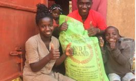 Gospel Artiste Kasiita Donates Food To Orphans During COVID-19 Lockdown