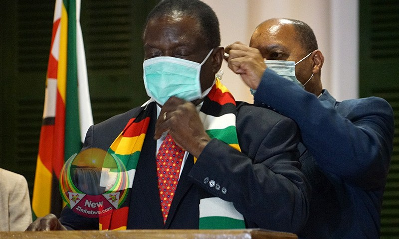 Is Zimbabwe's Mnangagwa Infected  With Deadly COVID-19?