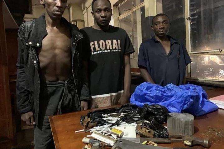 Police Arrest 3 Robbers Breaking Into City Shops During COVID-19 Lockdown