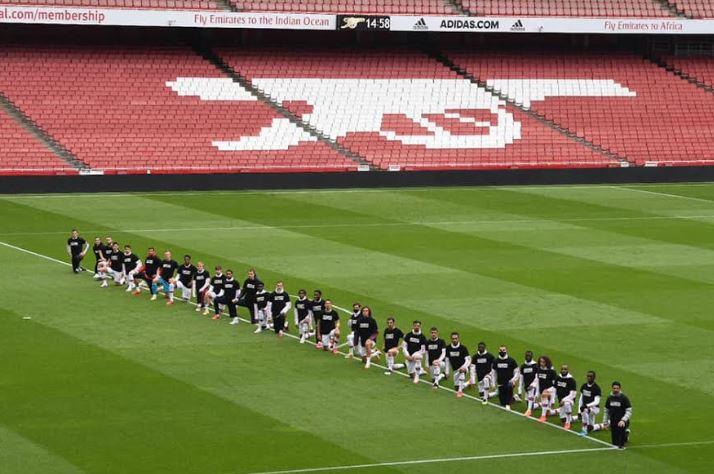 Arsenal Boss Mikel Arteta Praises Players For 'Black Lives Matter' Support