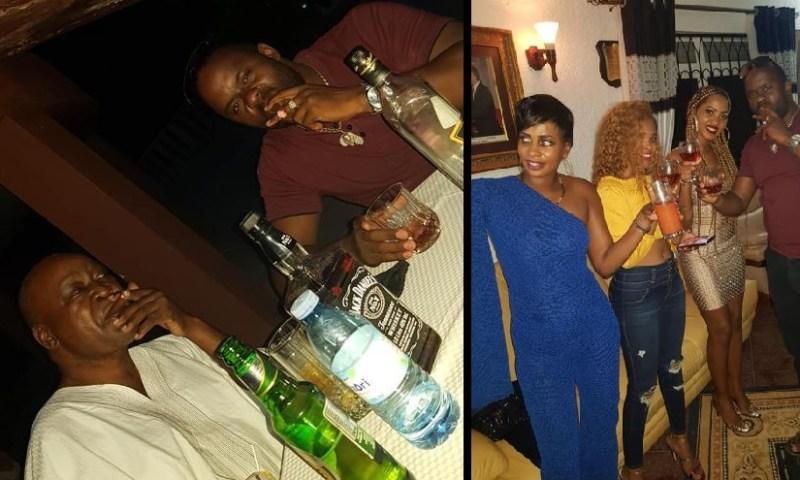 Ex-VP Prof. Bukenya Turns City Party Animal During COVID-19 Lockdown