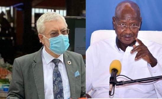 UN Chief Raises Concern As Museveni Announces 40,000 COVID-19 Bed Installation Centre At Namboole Stadium, Cases Rise To 665