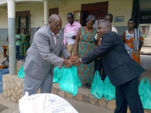 School Director Donates COVID-19 Relief Food To Over 500 Parents