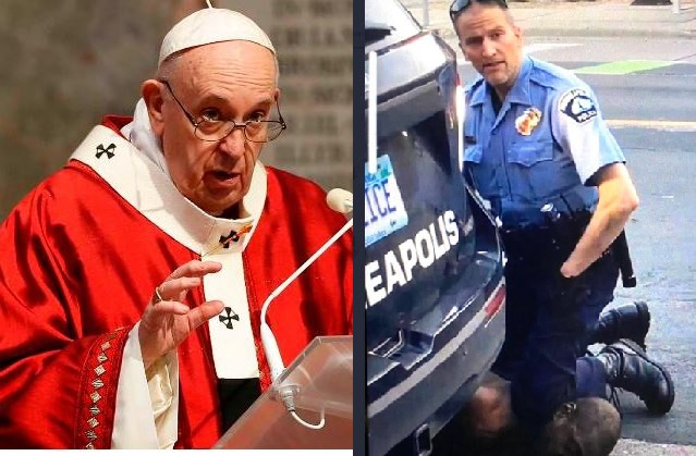 Furious Pope Francis Condemns George Floyd Murder By US Police, Denounces Racism