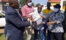 Generous: MP Kibaaju Donates COVID-19 Relief Food To Starving  Boda-boda Riders, Religious Leaders