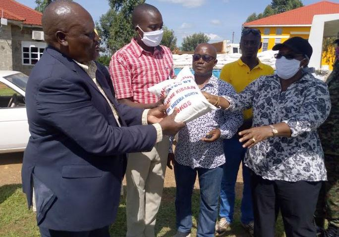 Generous: MP Kibaaju Donates COVID-19 Relief Food To Starving  Boda-boda Riders, Religious Leaders