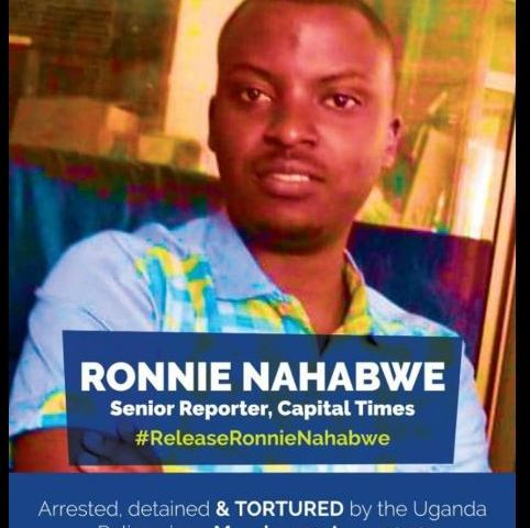 Media Fraternity Protests Illegal Detention Of Journalist Nahabwe, Give Police Ultimatum
