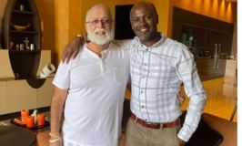 Mwenda Pays Tycoon Sudhir Surprise 'COVID-19 Visit'