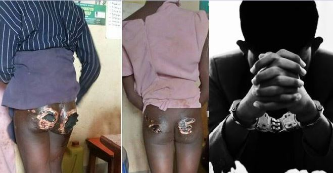 Heartless:Councilor Arrested Over Torture Of Own  Daughters