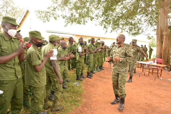 Gen. Kavuma Commends LDU Services As Refresher Training Kicksoff