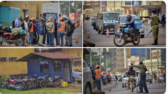 KCCA Issues Statement About City Public Transport As Police Impounds Hundreds Of Boda-bodas, Taxis