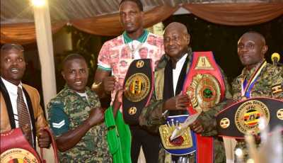 President Museveni Orders Rewarding Of Gold, Silver & Medal Winners Dead Or Alive