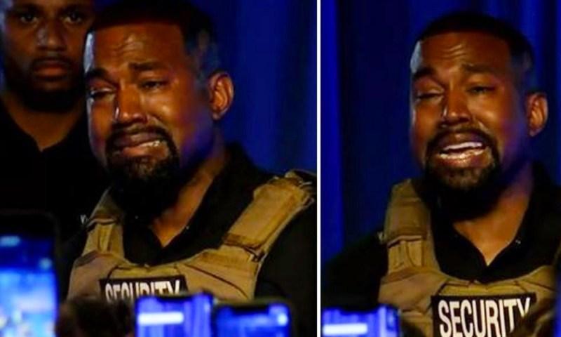Emotional: Trump, Biden Hard Hit By Rapper Kanye West Tearful Rally