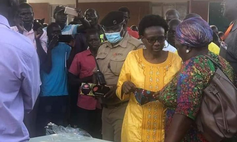 Angry Ugandans Grill Controversial Min.Aceng For Holding A Political Rally Without Observing SOPs