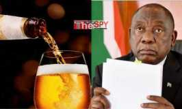 Panic: President Ramaphosa Bans Alcohol As COVID-19 Cases Surge