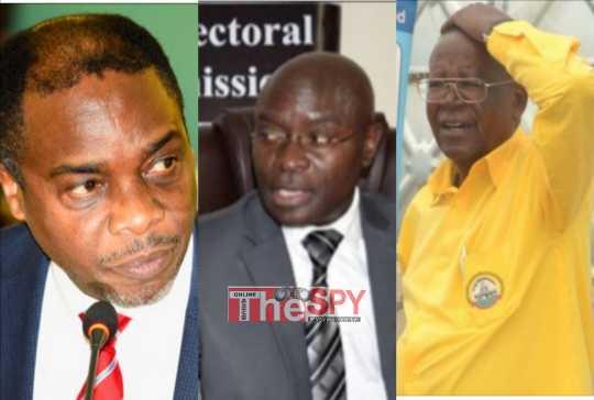 EC Scandal: Min. Kamuntu, Attorney General Squeezed Over Ballot Paper Deal Clashes