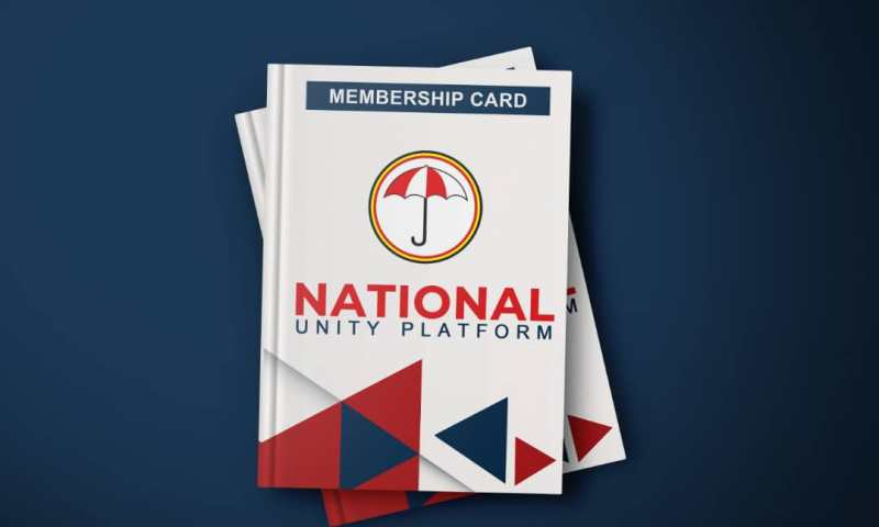 Bobi Wine's NUP Unveils New Membership Cards Ahead Of 2021 Elections