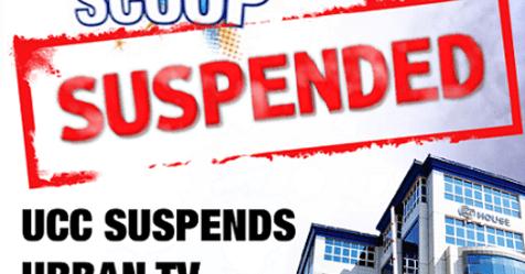 Breaking: UCC Suspends Urban Tv's Scoop Show Over Gashumba Attack