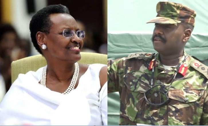 'My Mother Is The Best'-Gen. Muhoozi Heaps Praises On First Lady Janet Museveni