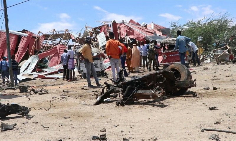 Tragedy:Eight Soldiers Killed,14 Wounded In Deadly Al-Shabab Suicide Bomber Attack