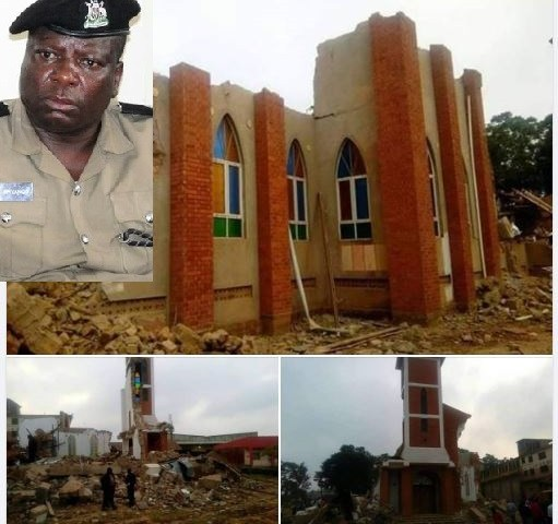 Police Speaks Out On Demolished Anglican Church, Several Officers Arrested