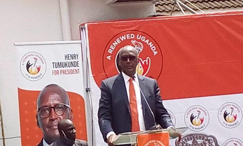 2021 Elections:Tumukunde Launches 'Renewed Uganda' Platform In Bid To Unseat Museveni