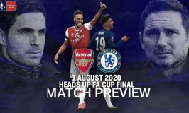 Arsenal Vs Chelsea FA Final: Tactical Preview, Possible Starting Line Up