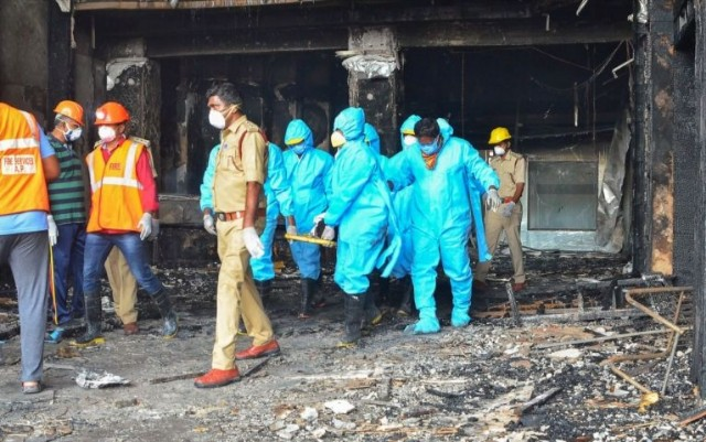 Horror:Deadly Fire Kills 11 Patients In COVID-19 Facility