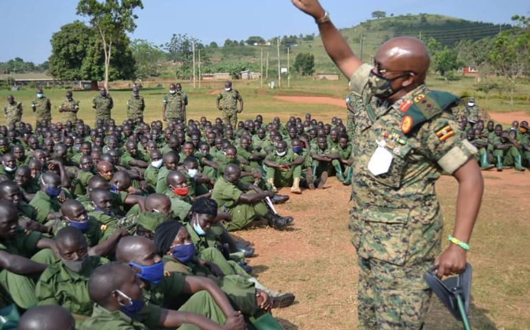 Gen Kyanda Urges LDUs To Improve On Their Image