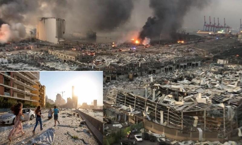 Hundreds Of Lives Perish In Lebanese Port Explosion