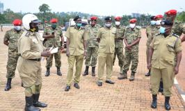 Security: Police Trains UPDF Personnel In Defensive Tactics