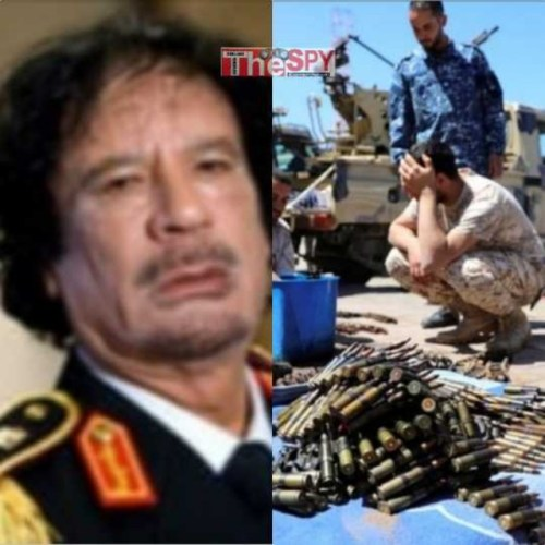 Gaddafi's Prophecy Comes True As Foreign Powers Battle For Libya's Oil