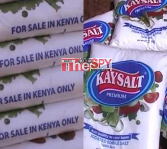 Big Story:Corrupt URA,UNBS Border Staff Connive To Smuggle Kenyan Salt Into Uganda