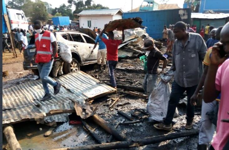 Property Worth Millions Of Shillings Lost As Fire Guts 6 Houses