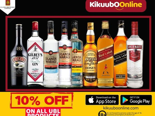 Kikuubo Online Sorts Lockdown Boozing Challenges With Full Stocks Of Discounted Wines,Spirits & Whiskeys