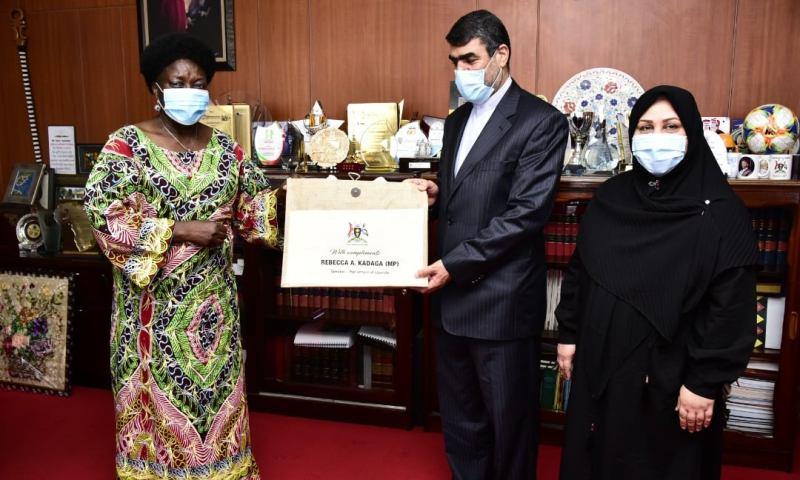 Uganda-Iran Relations: Speaker Kadaga Secretly Meets Iranian Ambassador To Curb Inter-State Trade Rows