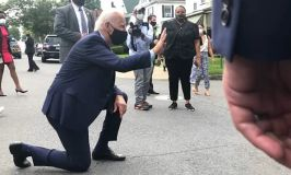 Election Fever Shivers Biden As He Kneels For Support Pledging To Pay Taxes For All Low Income Earners