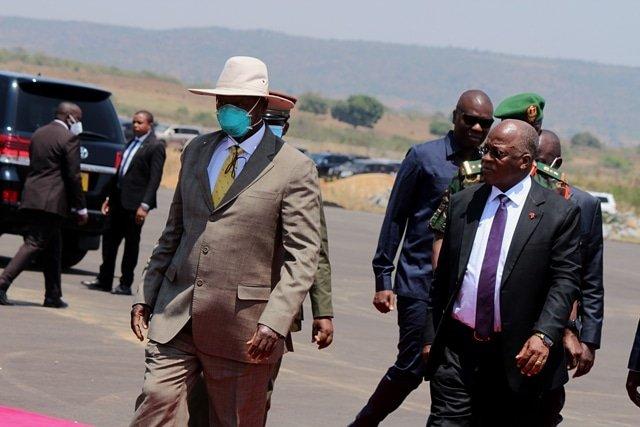 State House Staff Placed Under Quarantine After Museveni Visits Unmasked Magufuli
