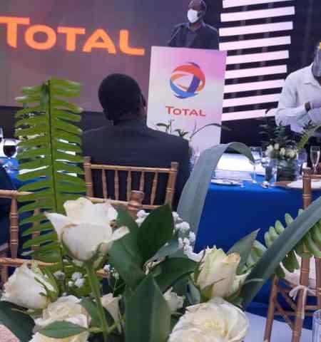 CDF Gen. David Muhoozi Bids Fair Well To Out Going Total Uganda Managing Director Obi Imemba