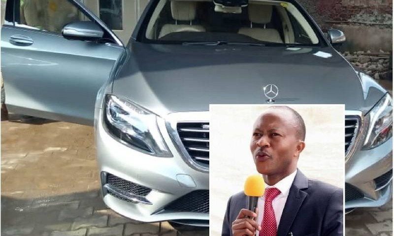 Frank Gashumba Silences Haters With Latest Multimillion Sleek Benz Weeks After He Gifted Daughter With Brand New BMW