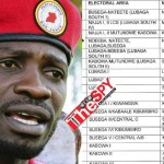 Full List: NUP Releases Names Of Endorsed Flag Bearers, Dustbins Chameleon For Sebagala