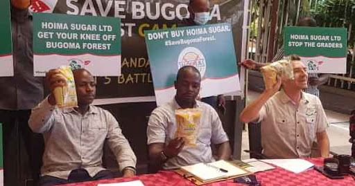 Bugoma Forest Saga: Activists Turn Guns Against Hoima Sugar Ltd, Mobilizes Ugandans To Boycott Its Products To Save 'Perishing' Forest