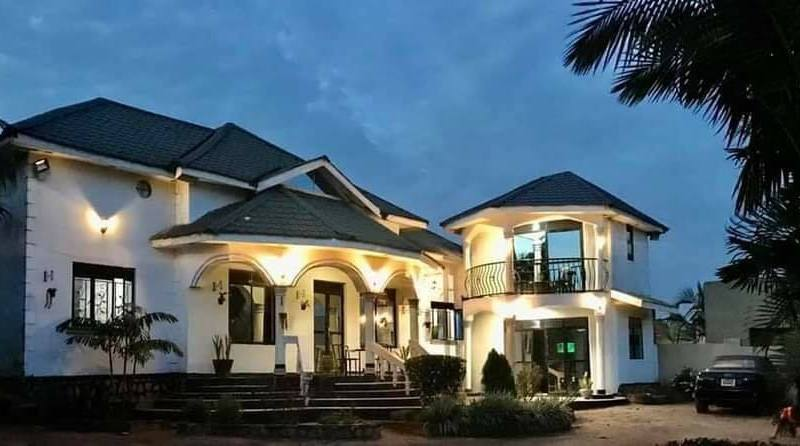 """""""HE Kyagulanyi Gave Me A Hook!"""" After 9 Years Building, Bobi's Brother Mikie Wine Has Silenced Haters With His Multimillion Mansion"""