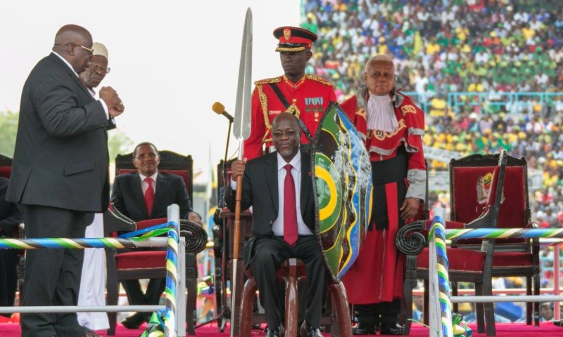 Tanzania's John Magufuli Sworn In As President For Second Term In Office