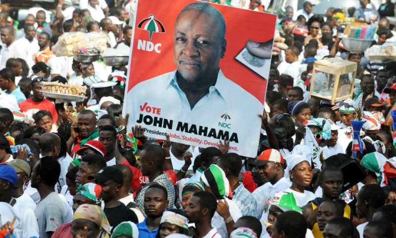 Tension! Ghana Seals Presidential Campaigns Ahead Of Monday Voting