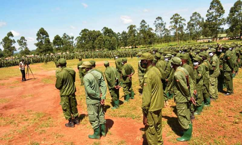 UPDF Flags Off 1,714 Troops To War Zone Somalia