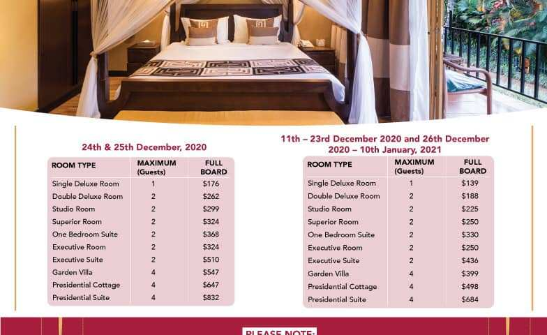Speke Resort Munyonyo Offers Craziest Deals On All Christmas Events