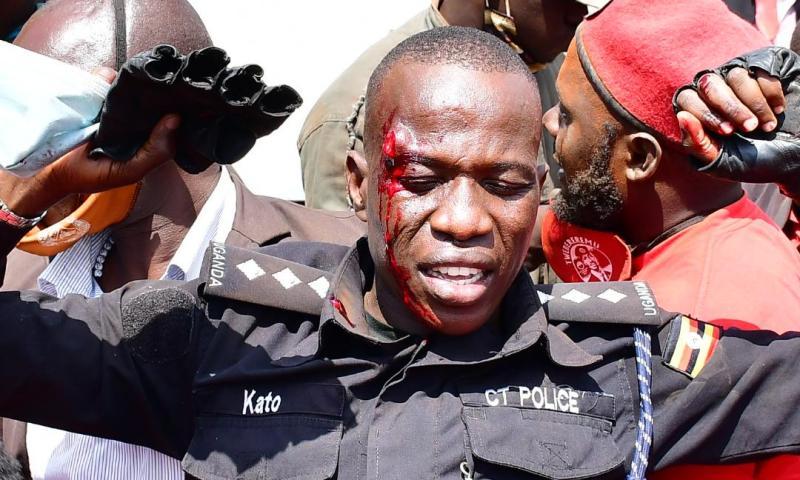 Just In: Bobi Wine's Music Producer Dan Magic, Body Guard Kato Shot By Police In Kayunga