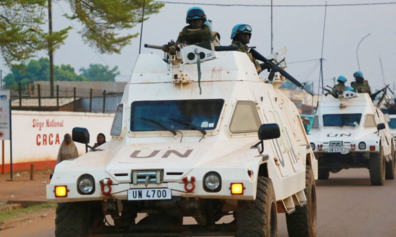 UN Peacekeepers Killed In Central African Republic Ahead of Sunday Polls