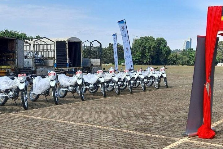 Ministry Of Gender Hands Over 150 Motorcycles To District Local Gov't To Implement SCG